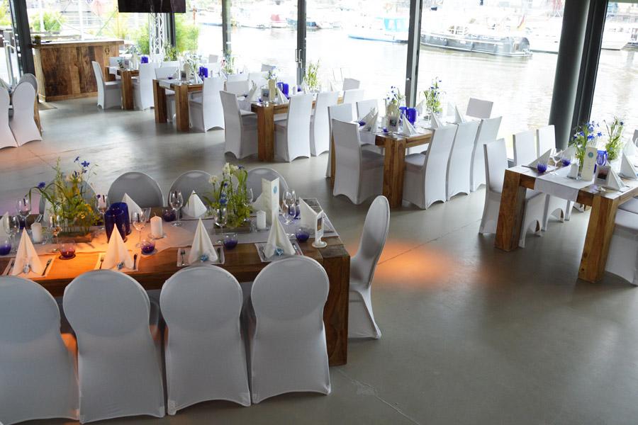 Hochzeiten & Geburtstage im Pier 13