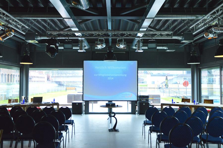 Pier 13 Eventlocation - Businessevent - Tagung